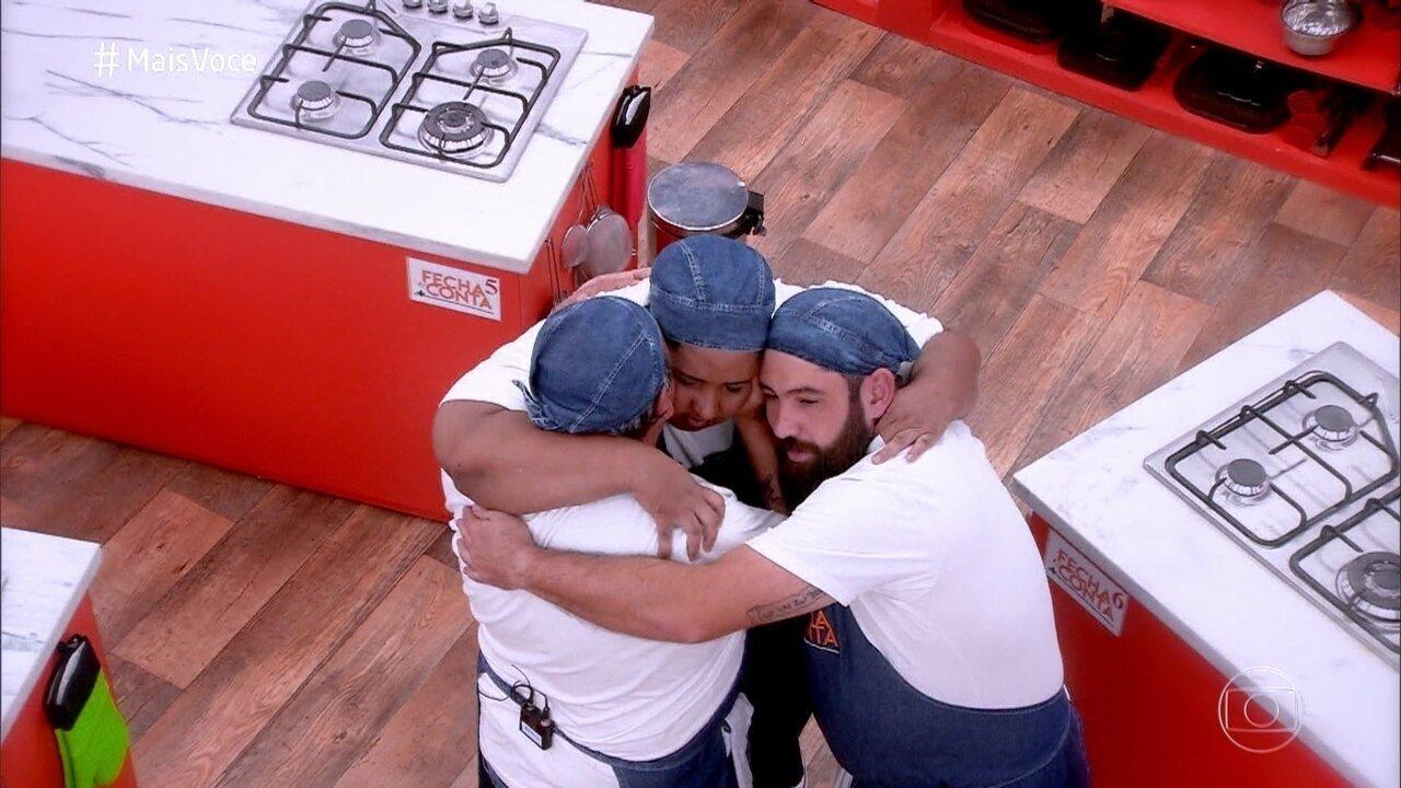 Luiza e Maurício vão para a final do 'Fecha a Conta Boteco'