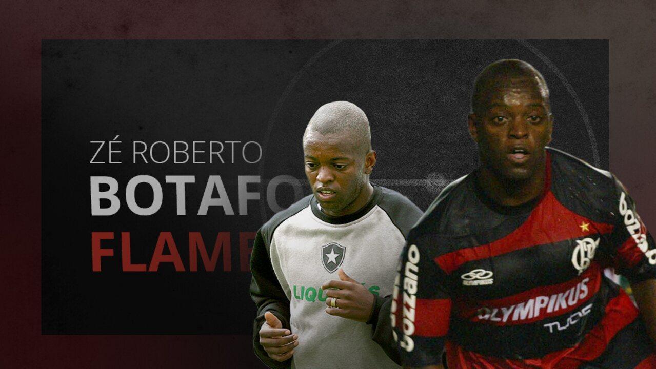 Confira gols de Zé Roberto por Botafogo e Flamengo
