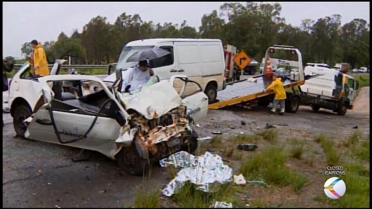 Secretária de Saúde e funcionário da Prefeitura de Formiga morrem em acidente na MG-050