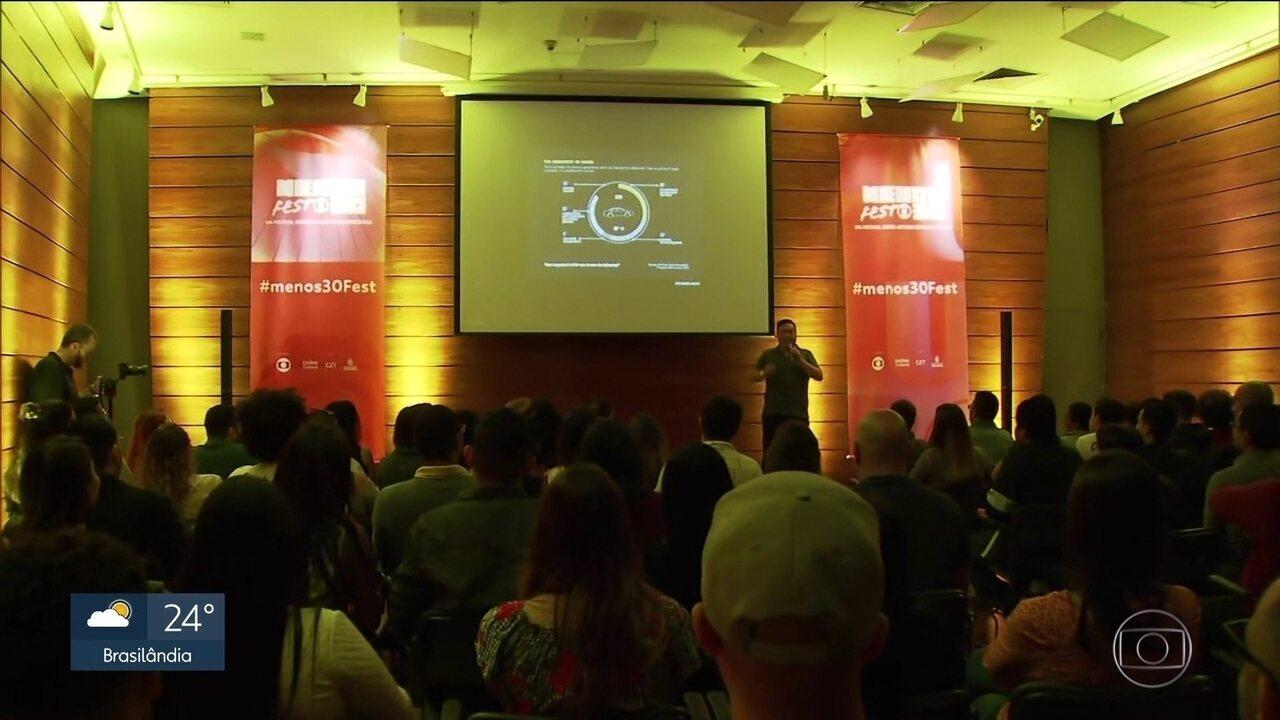 Festival Menos30 ajuda a usar criatividade para empreender com sucesso