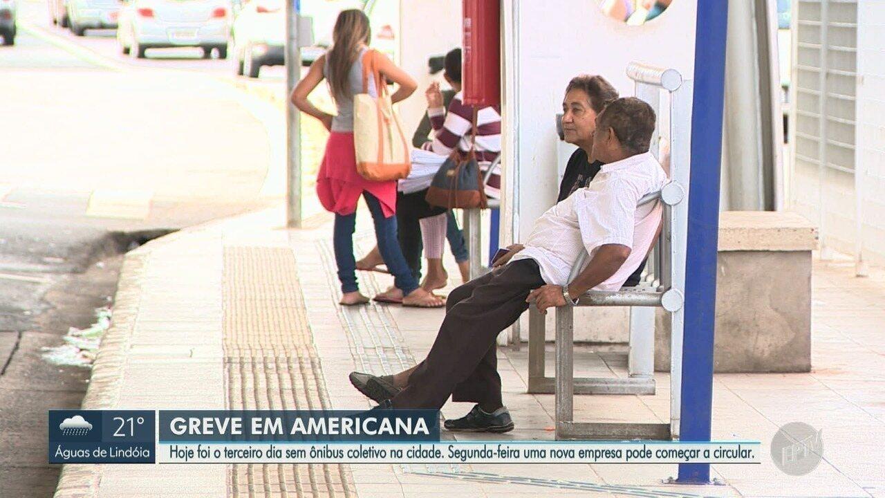 Americana faz acordo emergencial para volta de 50% do transporte coletivo na segunda