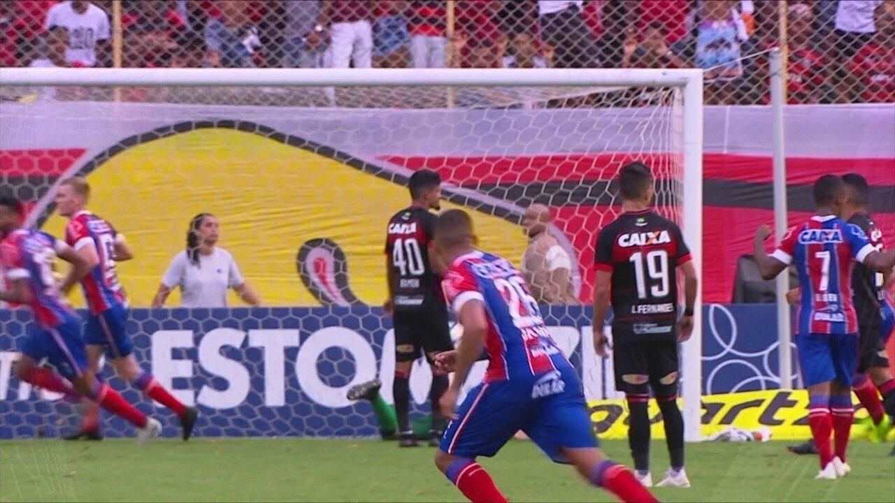 Melhores momentos de Vitória 2 x 2 Bahia pela 33ª rodada do Campeonato  Brasileiro 45ceadb8236a8