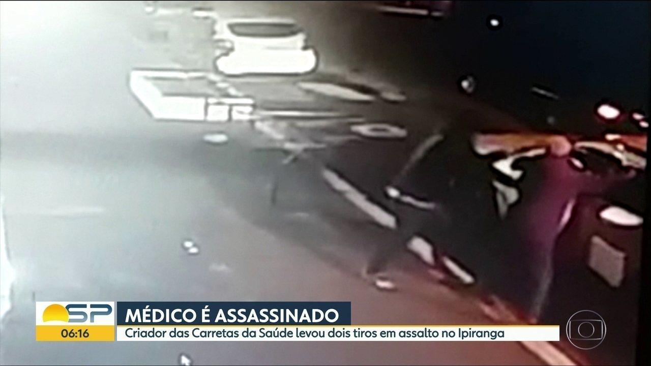 Criador das Carretas da Saúde morre em assalto no Ipiranga