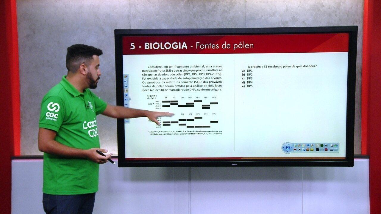 G1 TOP 10 Enem: 5 - Biologia