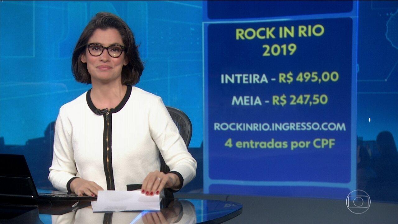 Venda antecipada de ingressos para o Rock in Rio bate recorde