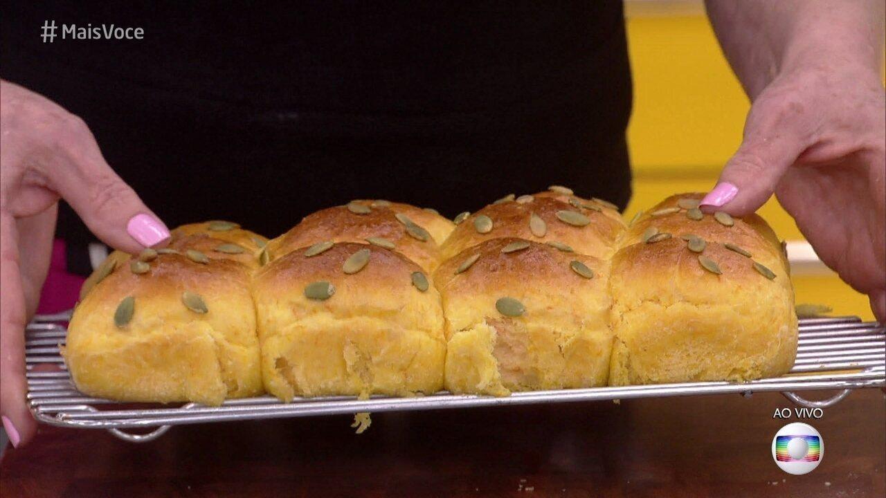 Brioche de Abóbora é diferente e delicioso