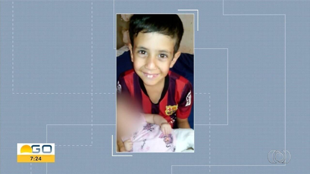 Família de menino morto baleado por espingarda doa órgãos, em Goiãnia