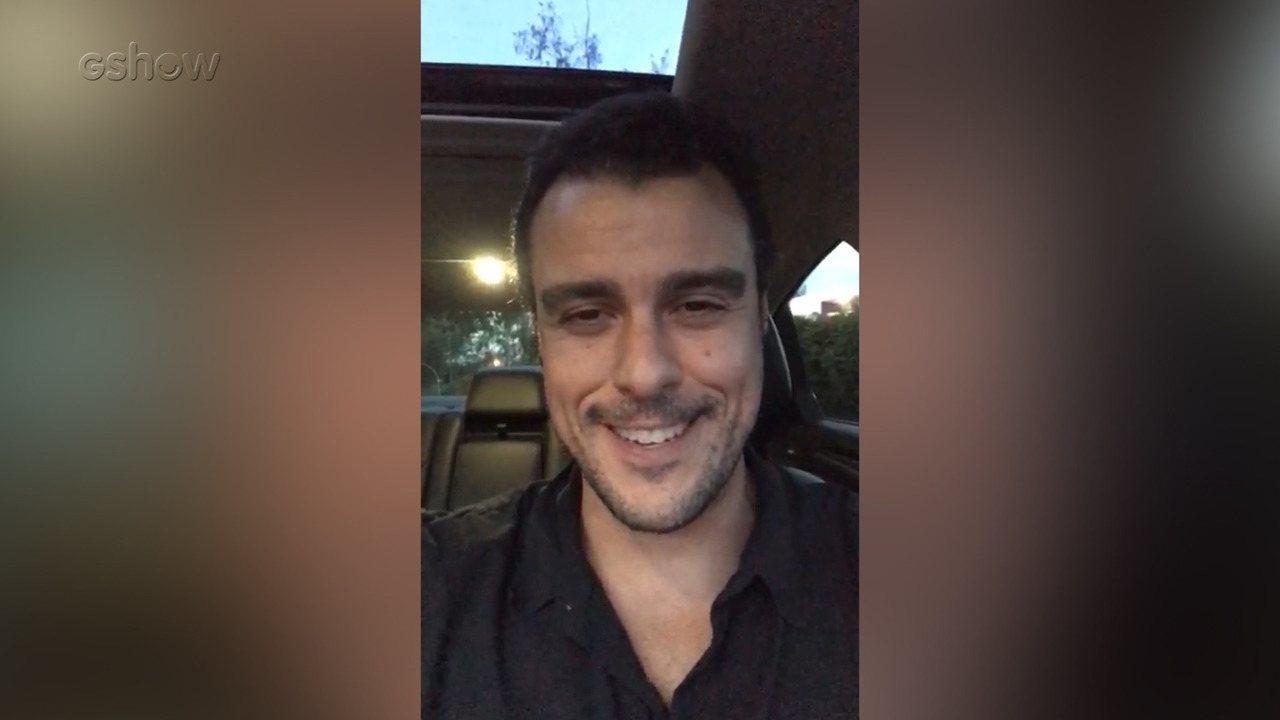 Joaquim Lopes comenta volta ao 'Vídeo Show'