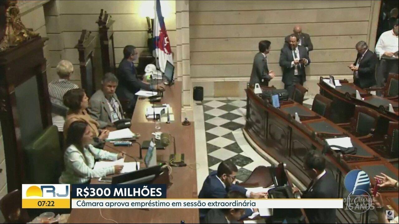 Câmara aprova empréstimo de R$300 milhões em sessão extraordinária
