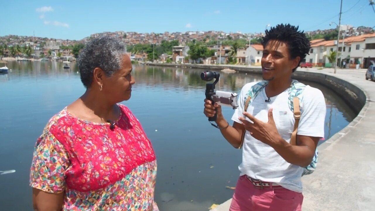 O 'Vumbora' conhece projetos liderados por moradores no bairro do Uruguai