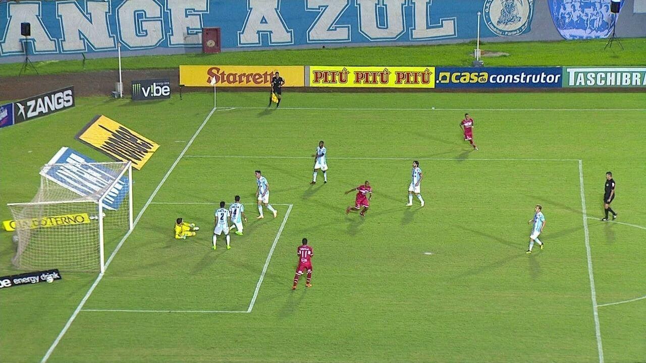 Melhores momentos: Londrina 1 x 2 CRB pela 37ª rodada da Série B do Brasileirão