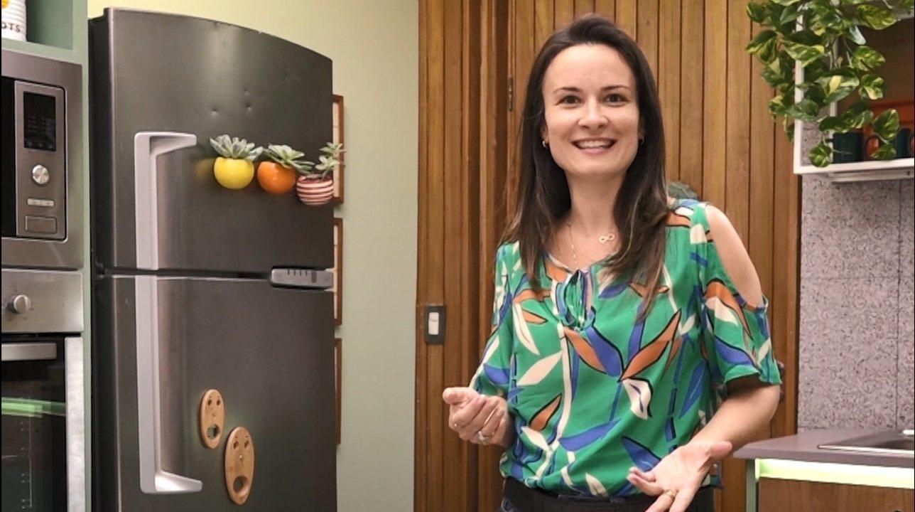 Elaine Gonzalez mostra como transformar sua cozinha