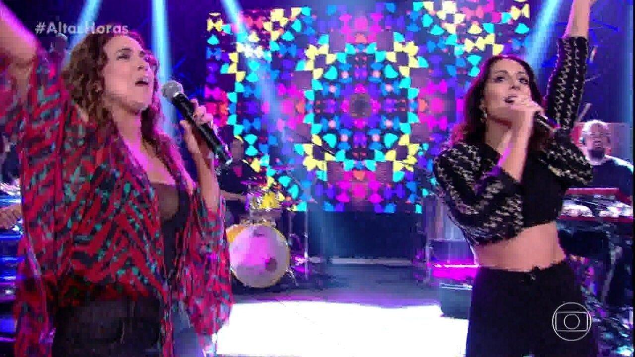 "Daniela Mercury canta ""Swing da Cor"" com I Koko"