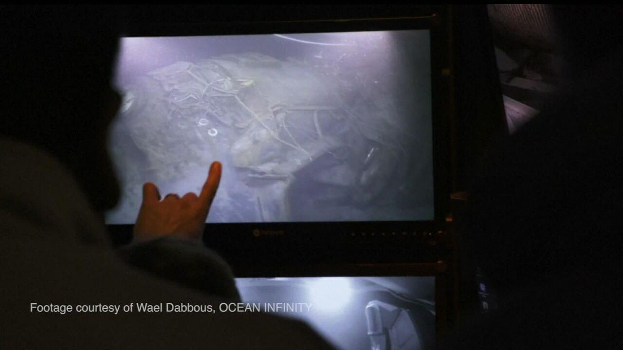 Veja as primeiras imagens do local onde o submarino argentino desapareceu