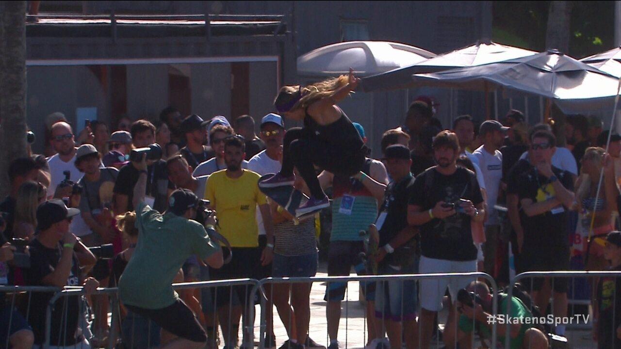 Letícia Bufoni vence na categoria street da etapa do Rio do STU Open