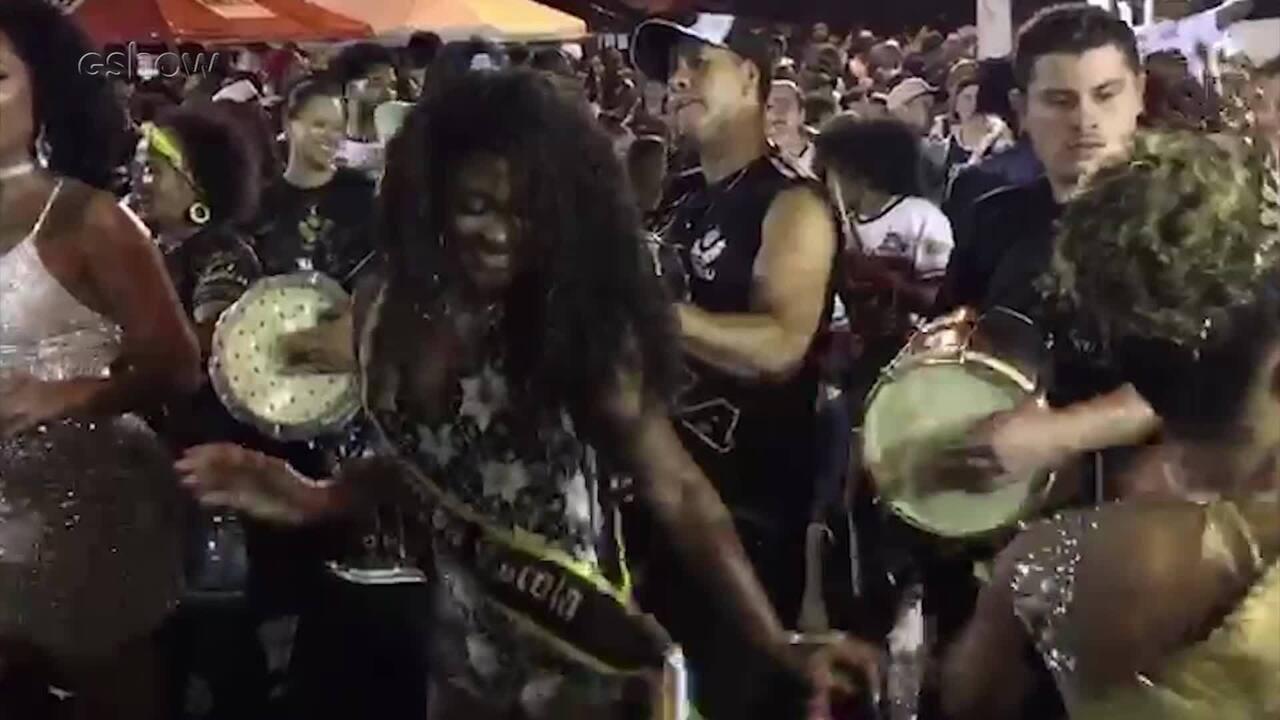 Erika Januza assume posto de musa da Vai Vai para o Carnaval 2019