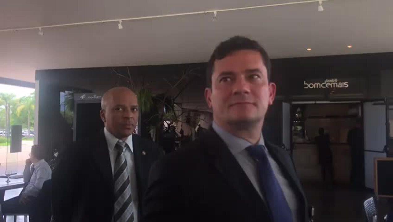 Sérgio Moro disse que pode definir ainda nesta semana o novo diretor da Polícia Federal