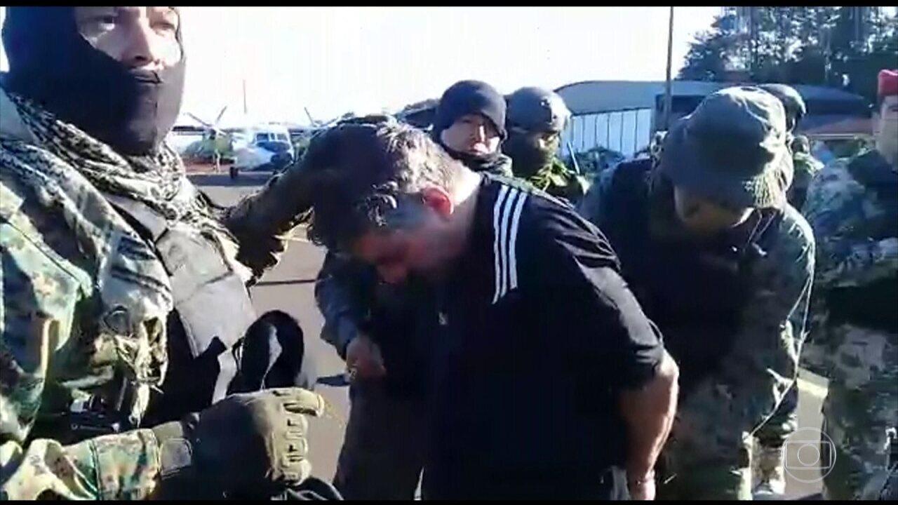 Expulso do Paraguai, traficante Marcelo Piloto é transferido para o Brasil