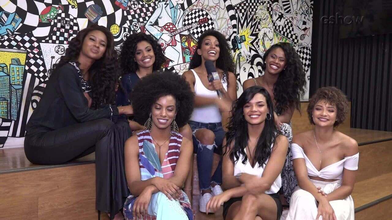 Bailarinas do Faustão falam sobre ensaio em homenagem ao Dia da Consciência Negra