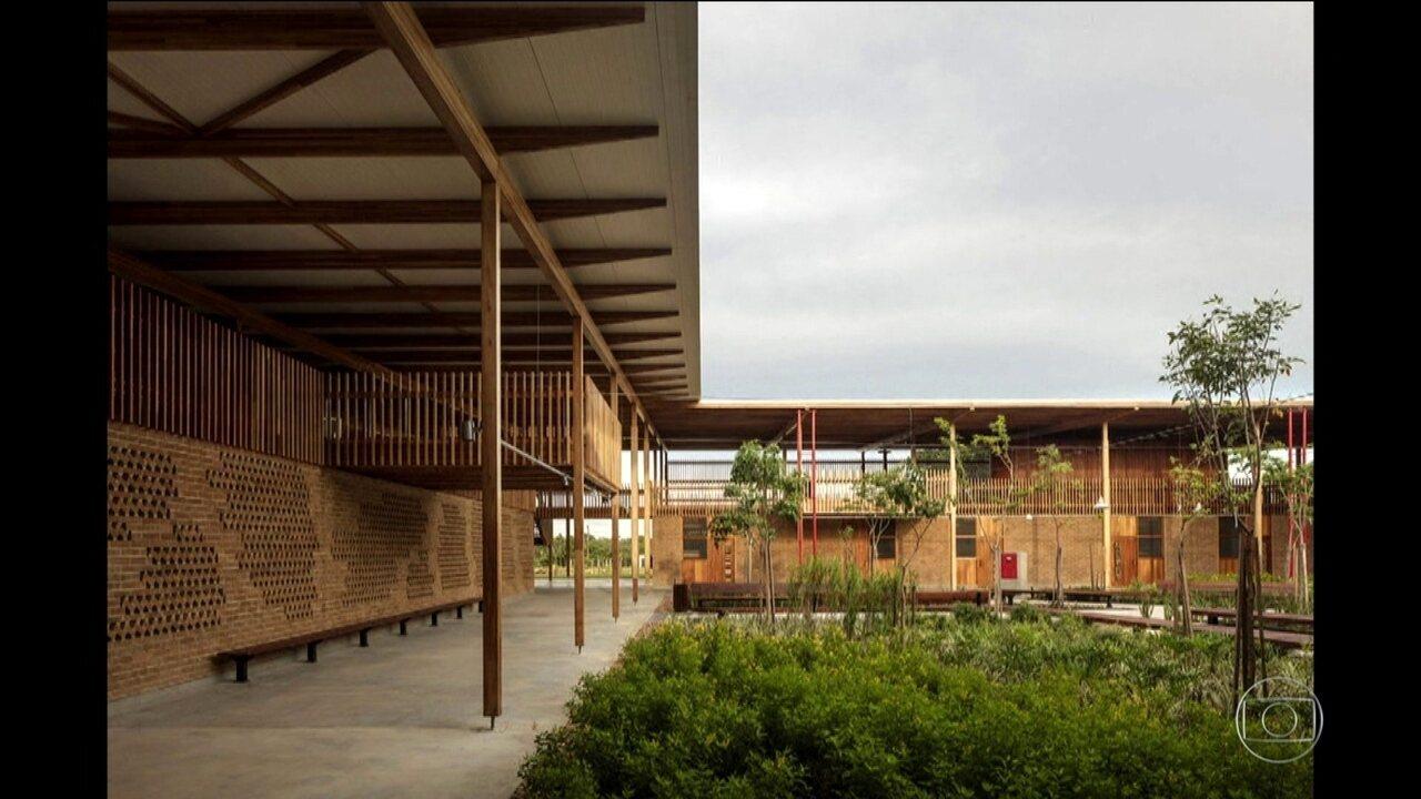 Projeto de arquitetura brasileiro ganha prêmio internacional