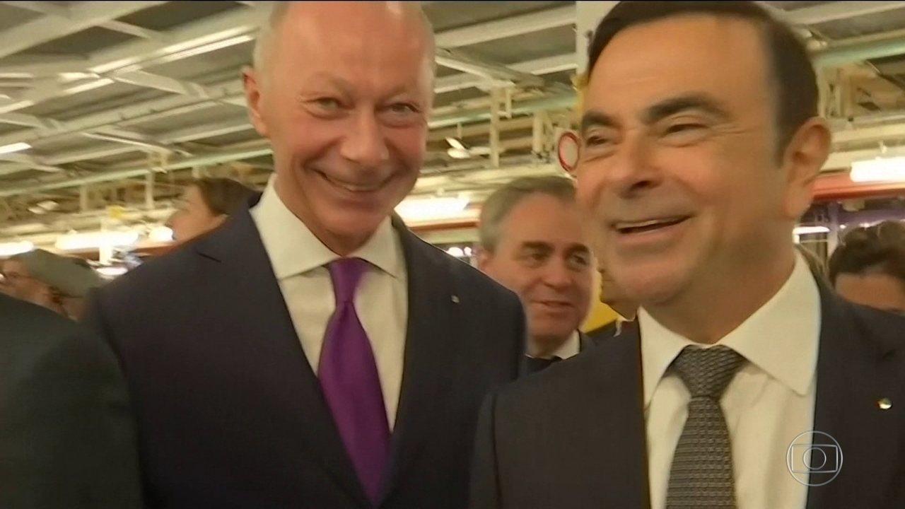 Brasileiro Carlos Ghosn não é mais diretor executivo da Renault