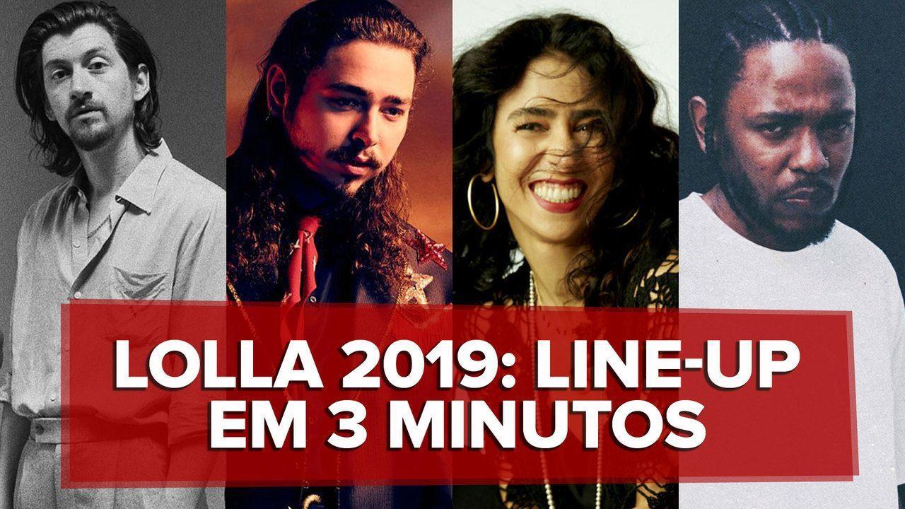 G1 comenta programação do Lollapalooza: veja resumo em 3 minutos