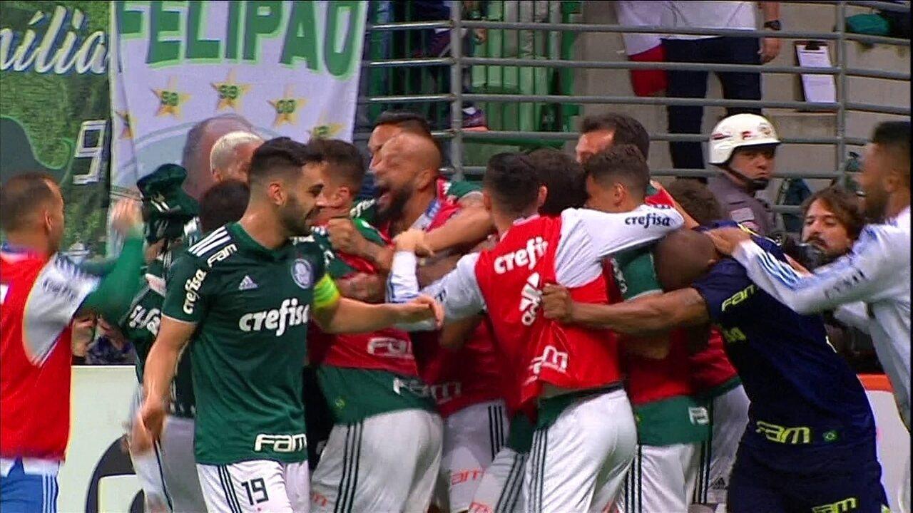Melhores momentos: Palmeiras 4 x 0 América-MG pela 36ª rodada do Campeonato Brasileiro