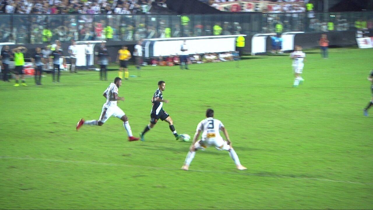 Melhores momentos de Vasco 2 x 0 São Paulo pela 36ª rodada do Brasileirão 2018