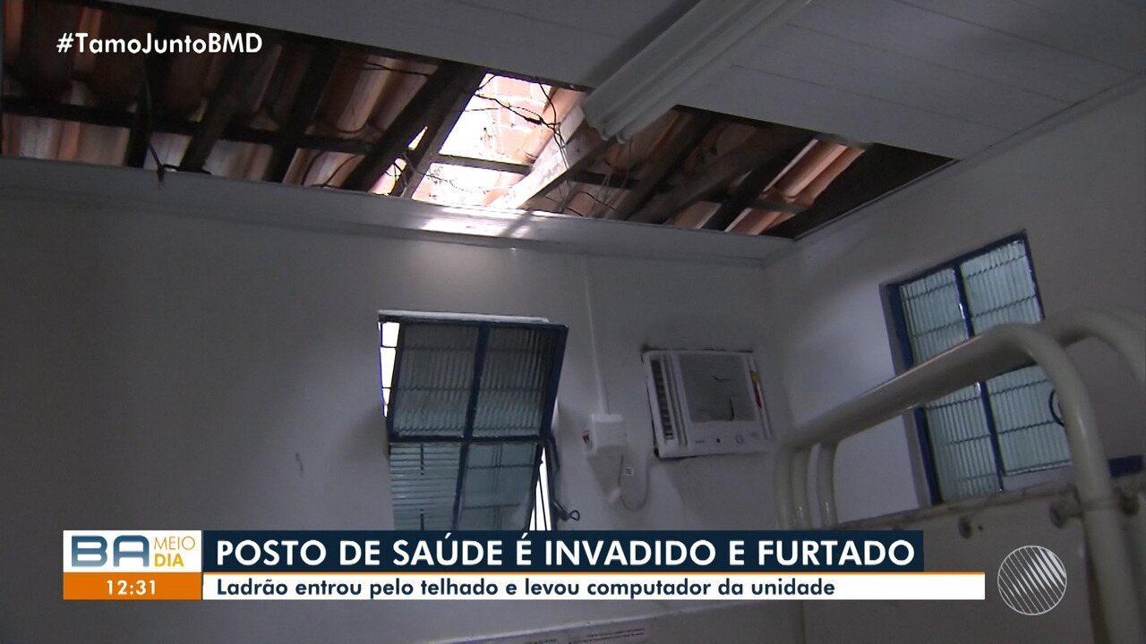 Pacientes de centro de saúde do Cabula ficam sem atendimento após unidade ser roubada