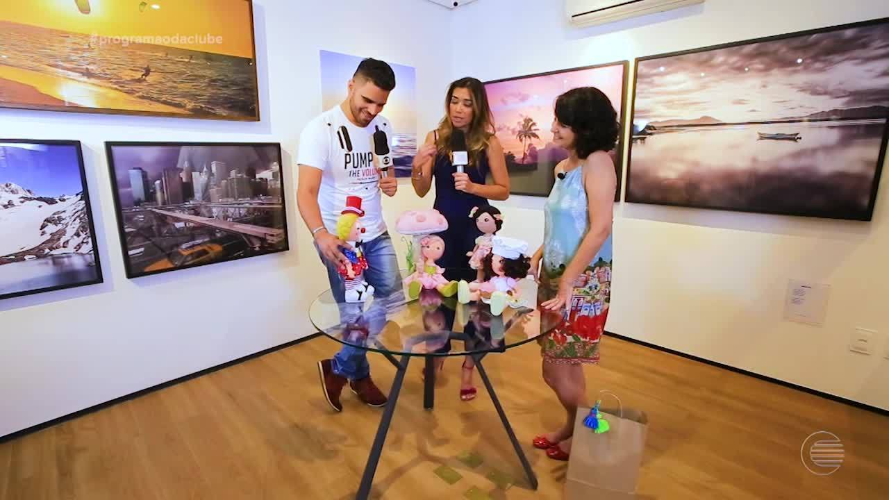 Artesã piauiense mostra trabalho no 'Programão'