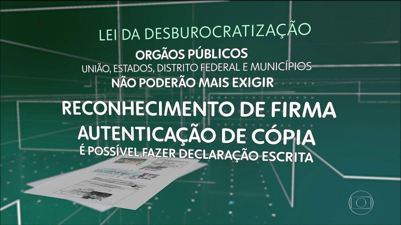 Entra em vigor lei para atenuar um aborrecimento dos brasileiros: a burocracia