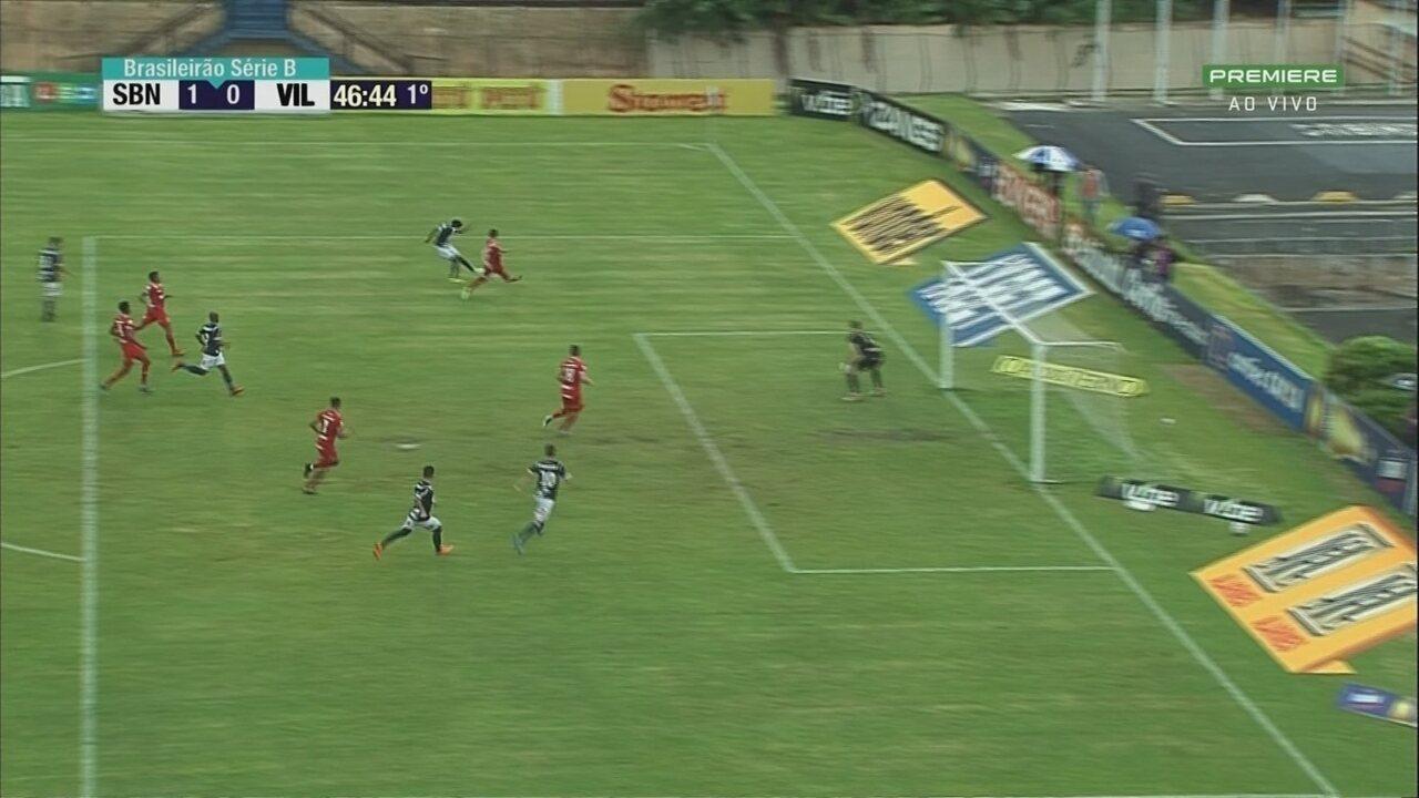 Melhores momentos de São Bento 2 x 2 Vila Nova, pela Série B do Brasileirão