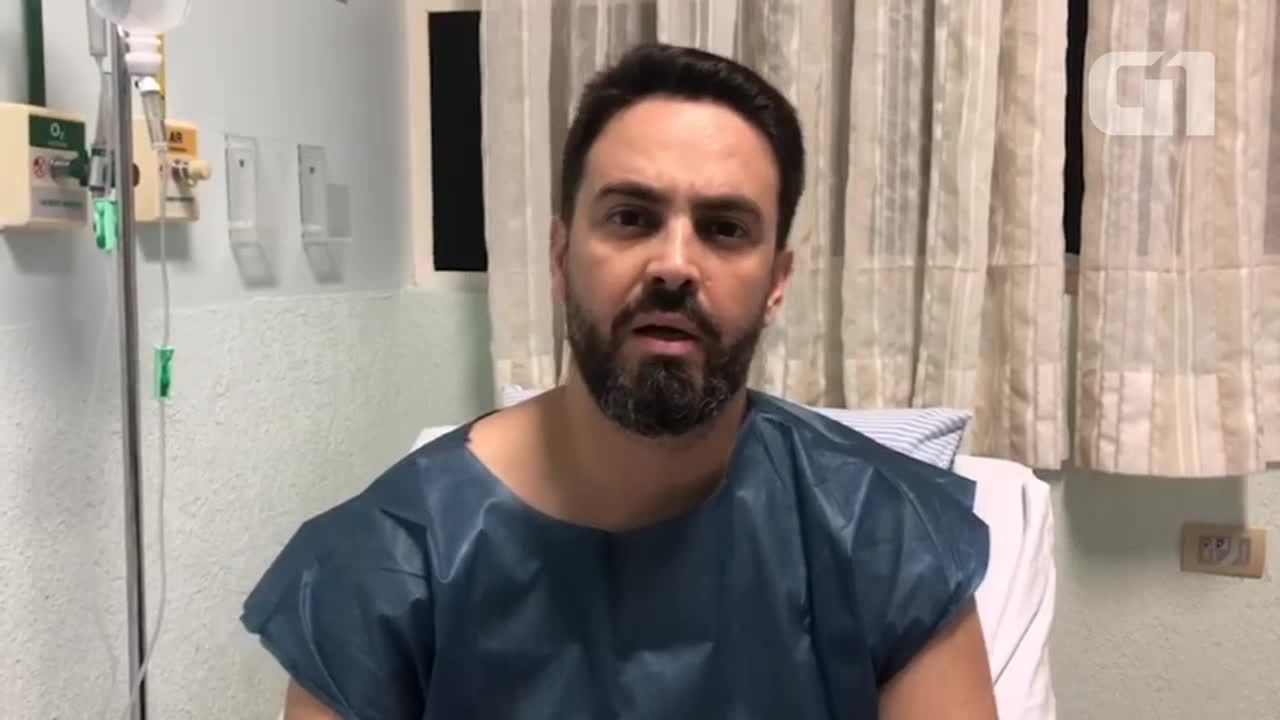 Deputado Léo Moraes grava vídeo após acidente de trânsito