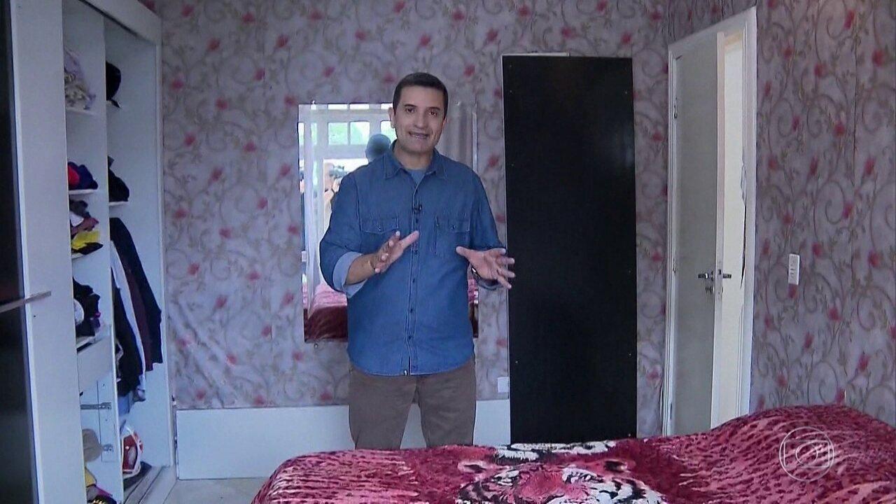Fantástico entra com exclusividade na casa onde o jogador Daniel viveu  momentos de terror 5f983ee3f178b