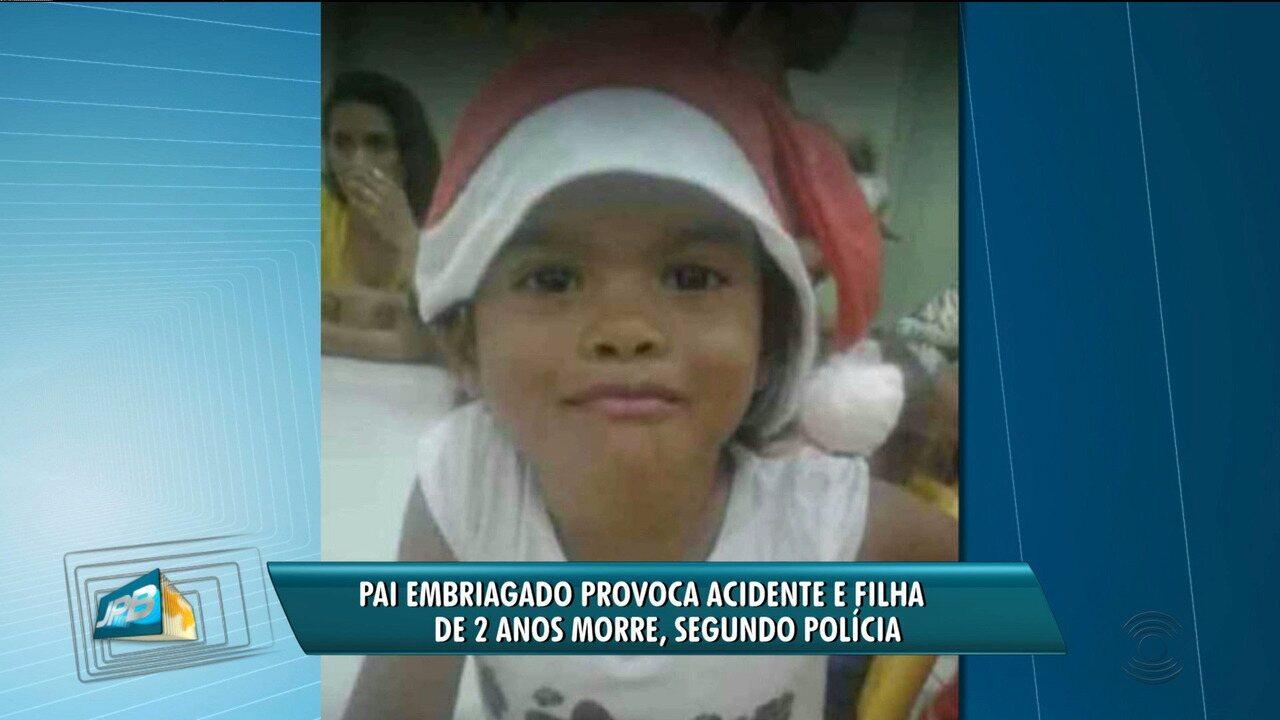 Pai é preso após acidente que causou morte da filha de 2 anos em ... 22784f423722a