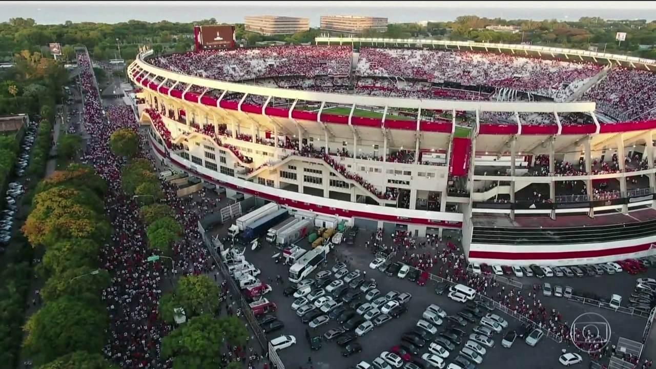 Advogados de River Plate e Boca Juniors estão no Paraguai para reunião na Conmebol