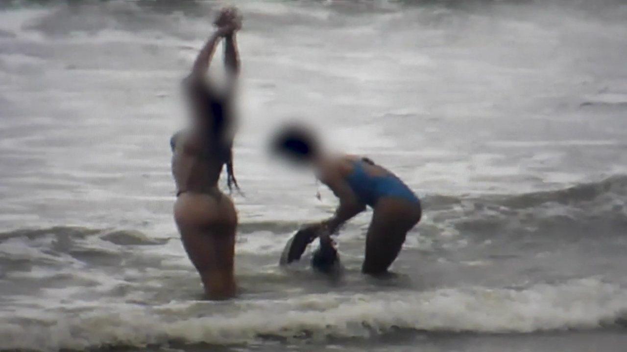 Servidores usam câmeras da Prefeitura de Guaratuba para filmar mulheres na praia