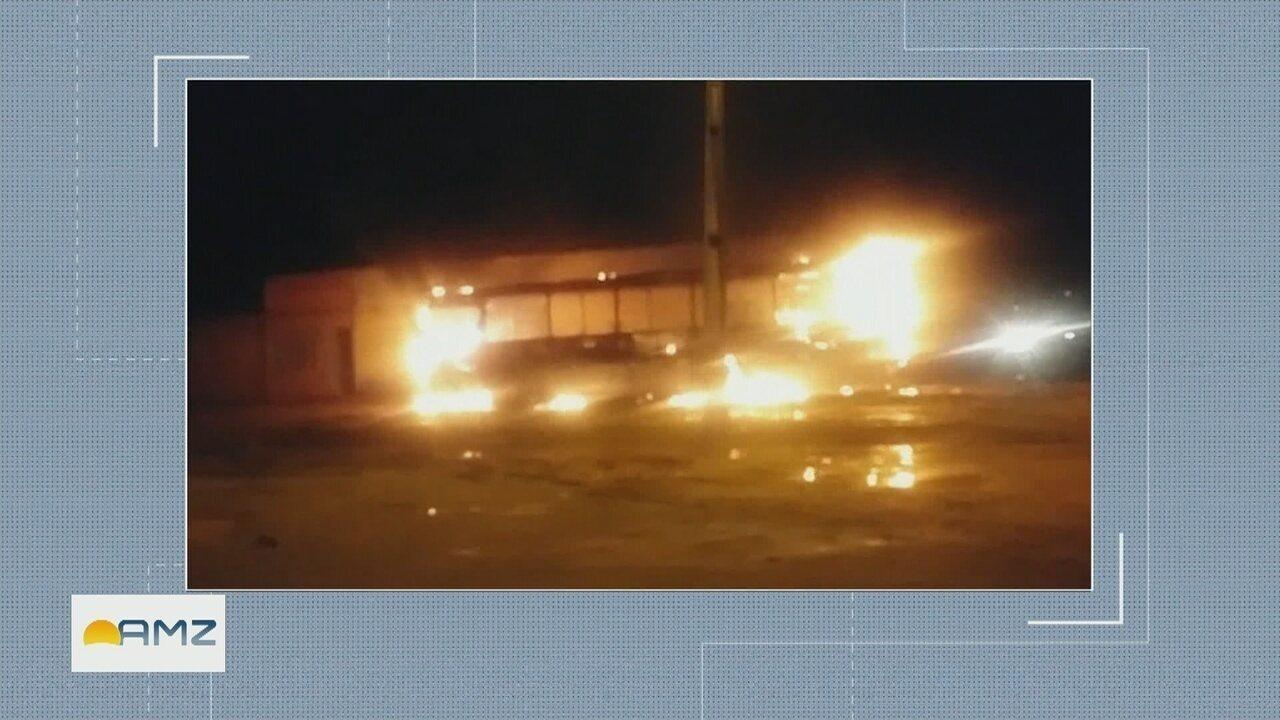 Operação da PF mira facção suspeita de comandar atentados a órgãos públicos em Roraima