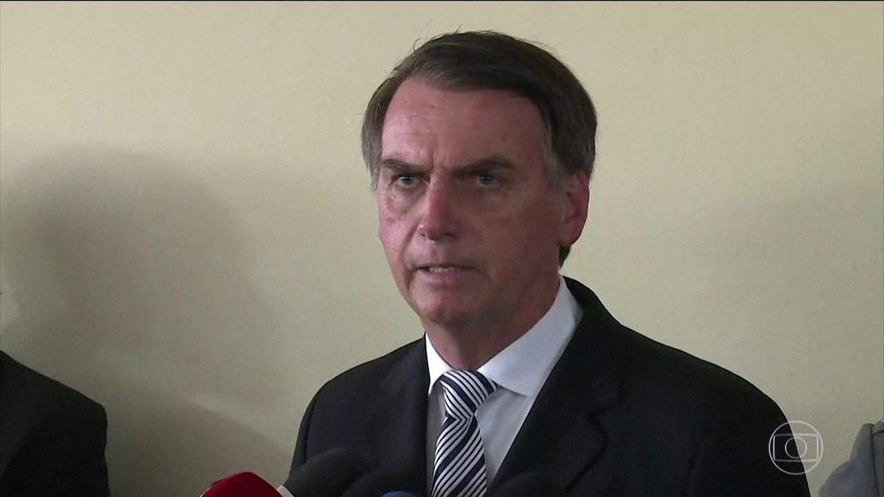 Bolsonaro se manifesta sobre as prisões no Rio de Janeiro e parabeniza Operação Lava Jato