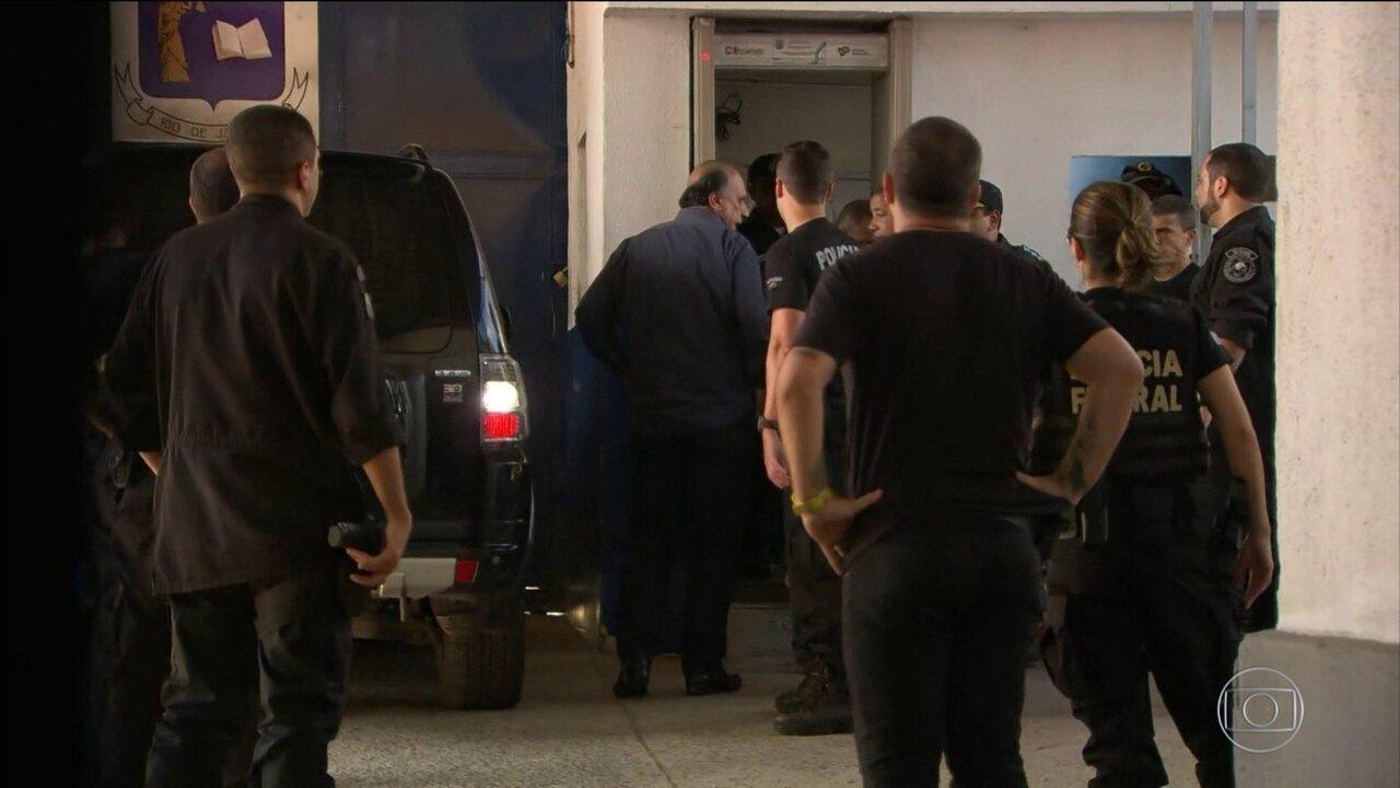 Lava Jato prende o governador do Rio de Janeiro, Luiz Fernando Pezão