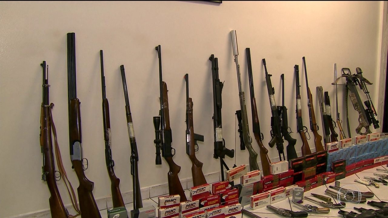 Polícia encontra arsenal na casa de advogado em SP