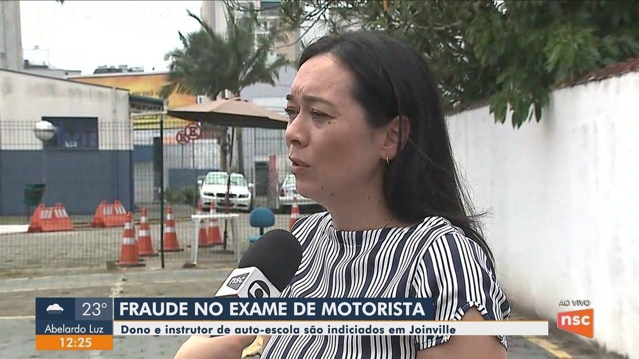 Dono e instrutor de auto-escola são indiciados por fraude no exame de CNH em Joinville