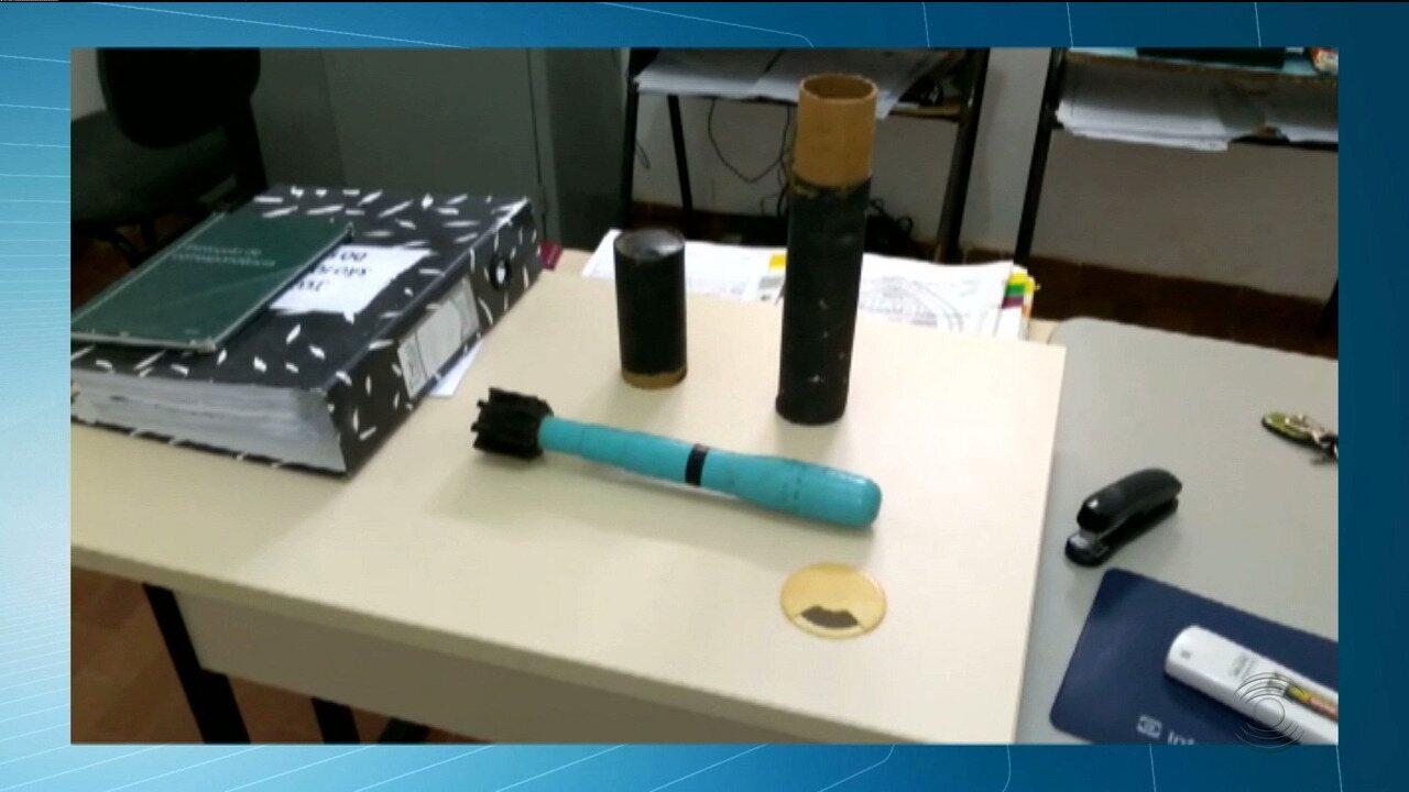 Explosivo é encontrado em armário de casa em Santa Helena