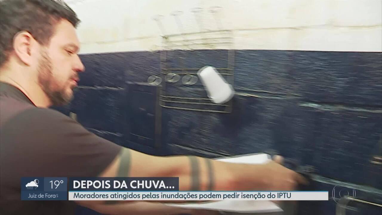 Prefeitura isenta do IPTU contribuintes de BH atingidos por desastres naturais