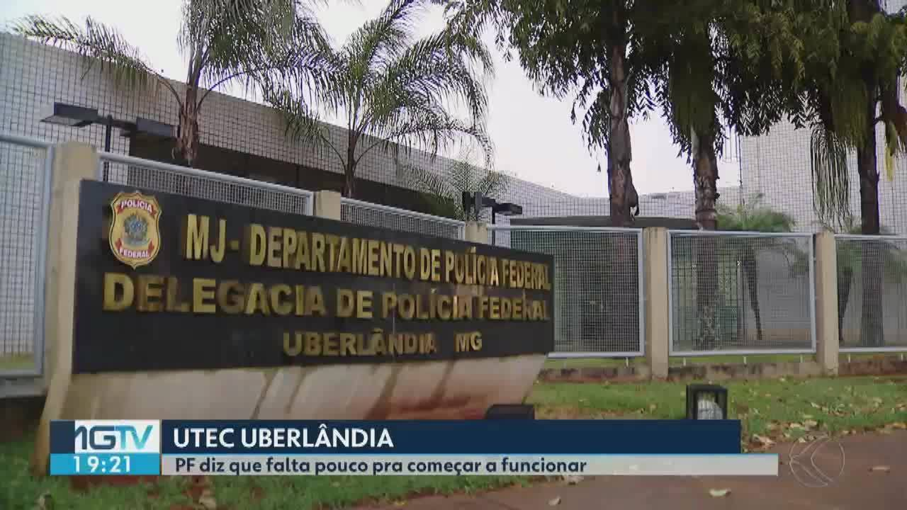 Unidade Técnico Científica da PF aguarda impasses para ser finalizada em Uberlândia