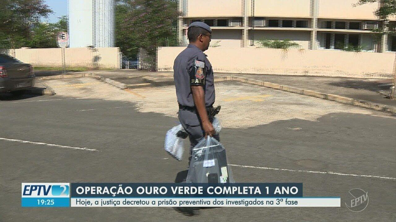 Operação Ouro Verde completa um ano com 18 prisões e perda estimada de R$25 milhões