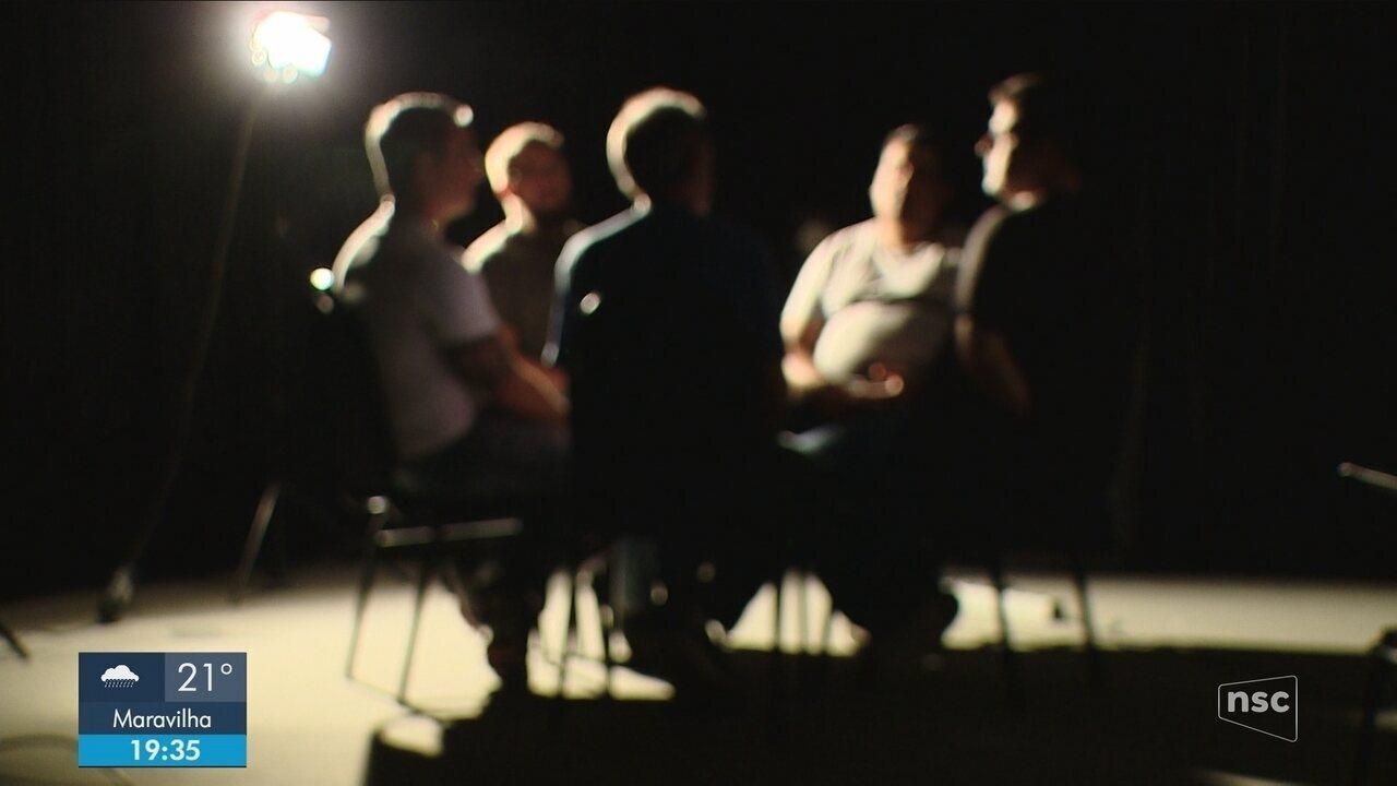 Projeto inédito promove encontro para recuperação de homens agressores em SC