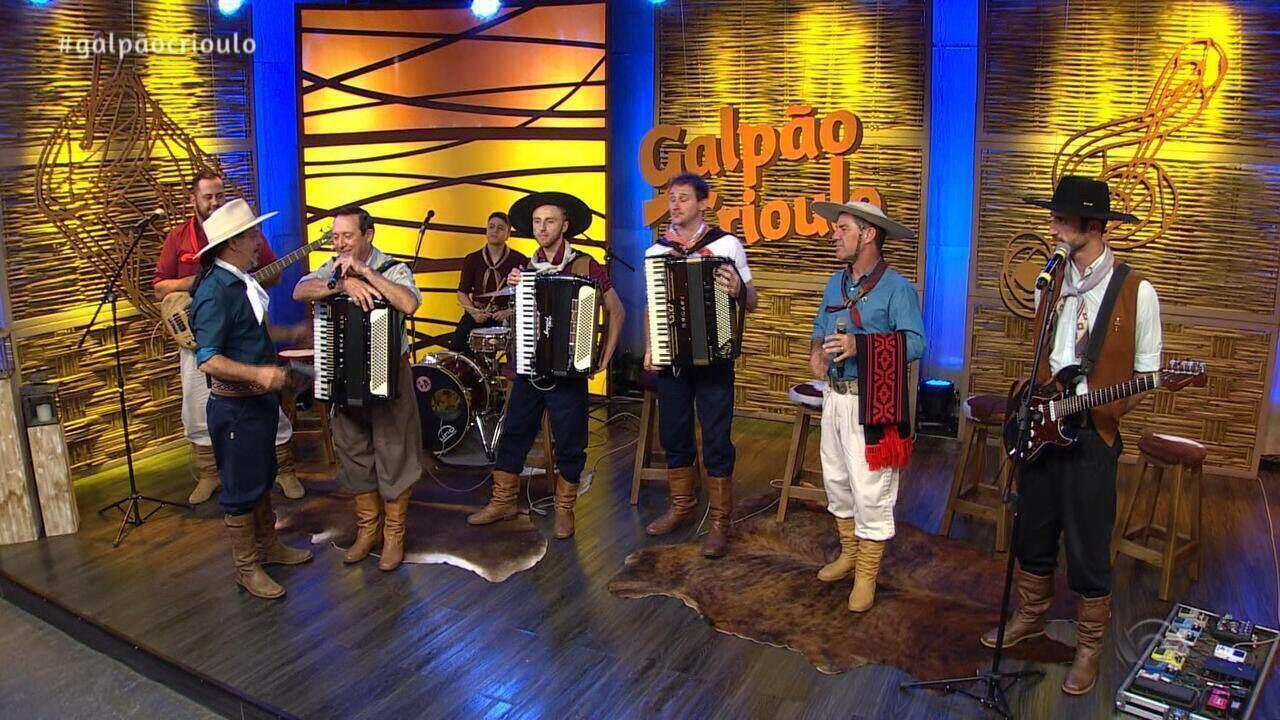 Reveja o quarto bloco do Galpão Crioulo de domingo (2)