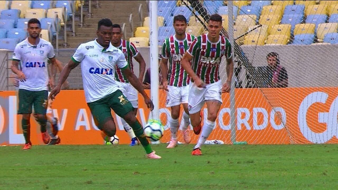 740aa45f09fdd Melhores momentos  Fluminense 1 x 0 América-MG pela 38ª rodada do  Brasileirão