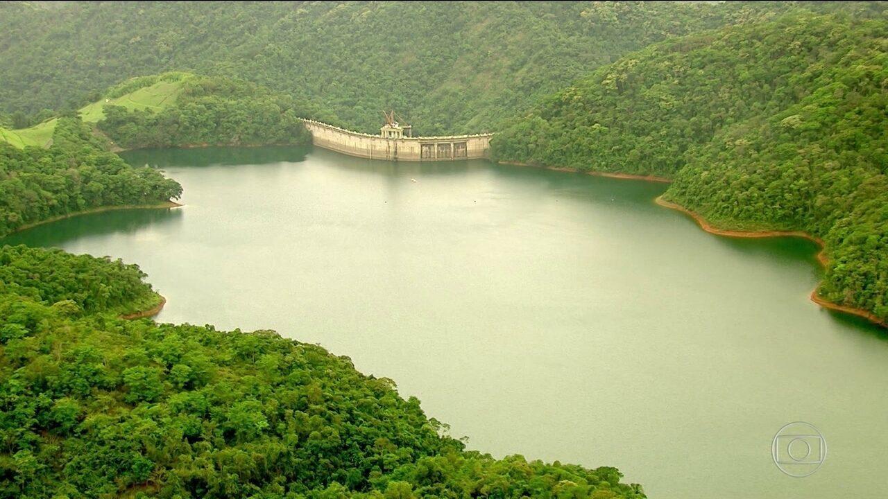 Período de chuvas começa com o nível de água mais alto nos reservatórios